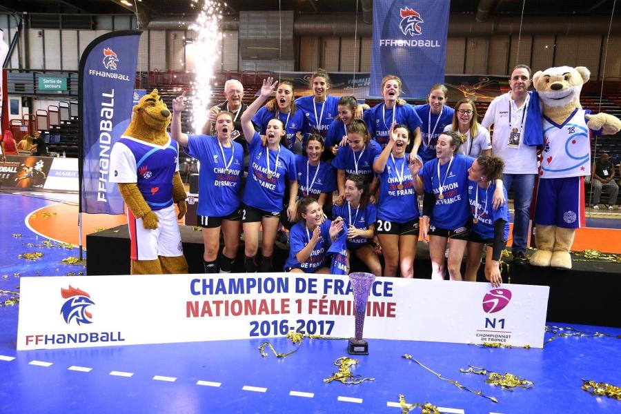 Finale N1F – Intrépide HBC vs Sun AL Bouillargues