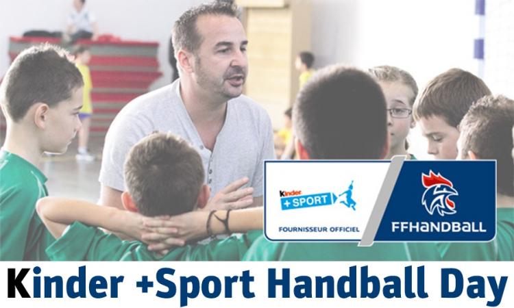 Kinder +Sport handball day : derniers jours pour s'inscrire
