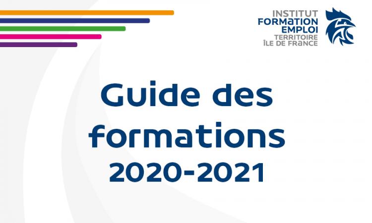 Guide des formations franciliennes 2020-2021