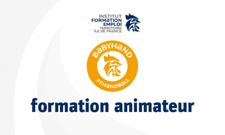 Formation animateur BabyHand 2018-2019