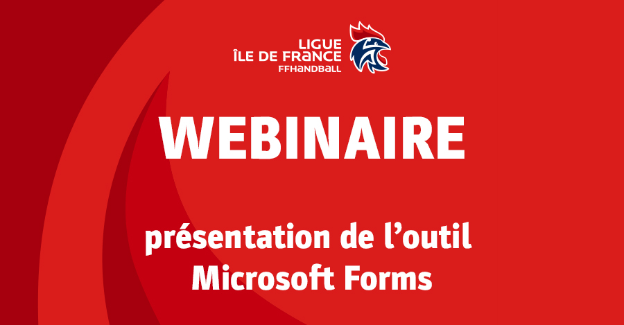 Webinaire – Forms