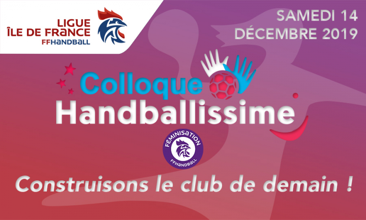 Colloque handballissime Île-de-France 2019