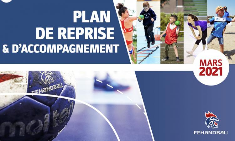 Plan de reprise & d'accompagnement FFHandball – mars 2021