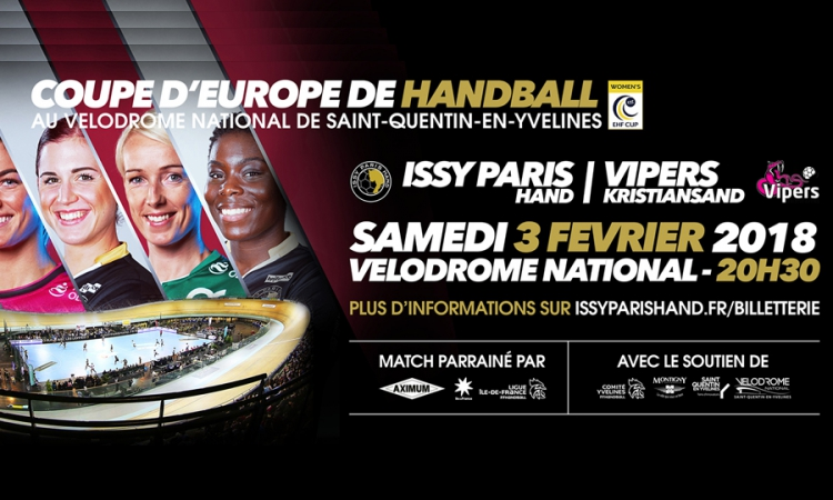Issy-Paris Hand de retour au vélodrome national !