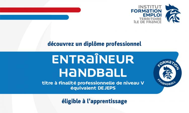 Titre V professionnel – Entraîneur de handball (2021-2023)