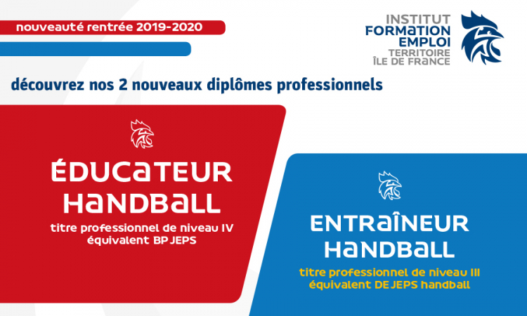 Nouvelles formations professionnelles Île-de-France 2019-2020