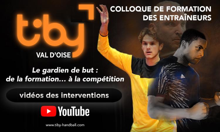 Vidéos des interventions du colloque de formation des entraîneurs Pierre-Tiby 2018
