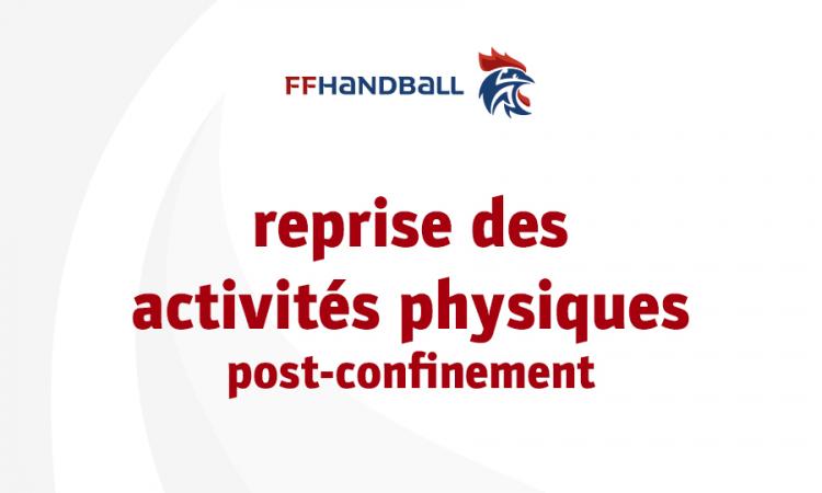 Reprise des activités physiques post-confinement