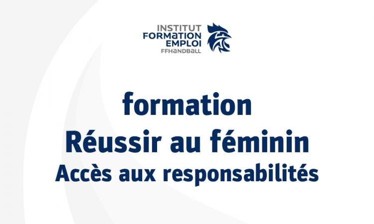 Formation FFHandball – Réussir au féminin 2018