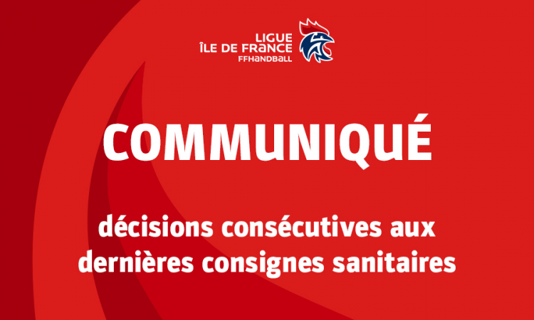 Décisions consécutives aux restrictions sanitaires touchant Paris et la petite couronne