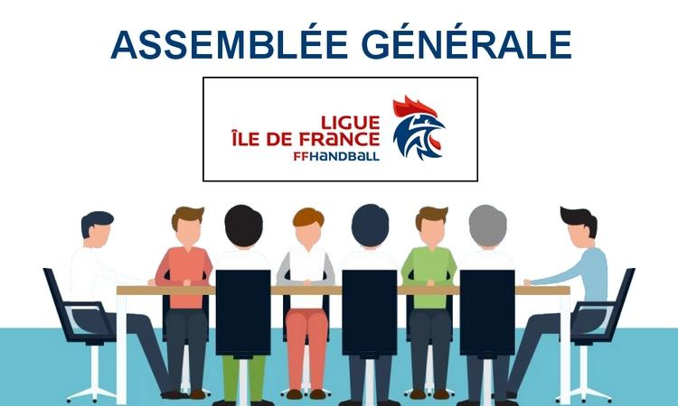 Assemblée générale ordinaire de la ligue d'Île-de-France de handball