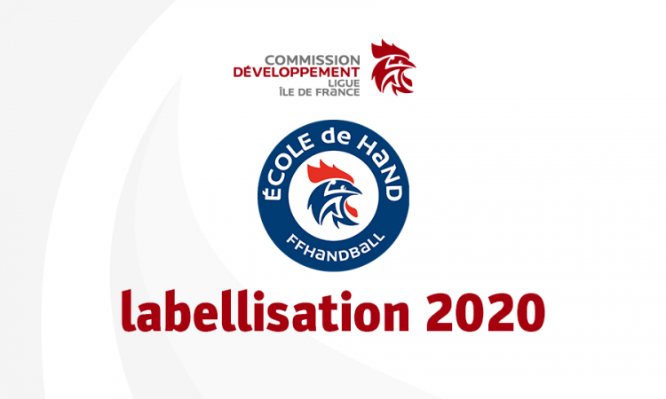 Labellisation 2020 des Écoles de hand