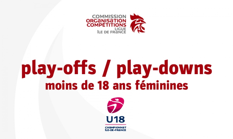 Play-offs / play-downs moins de 18 ans féminines