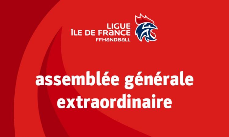 Assemblée générale extraordinaire – 24 mars 2018