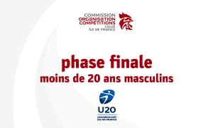 Championnat régional des moins de 20 ans masc. (phase finale)