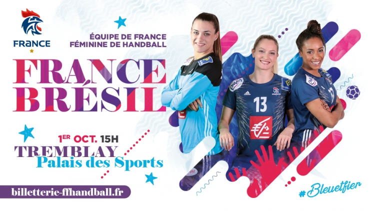 France vs Brésil à Tremblay !
