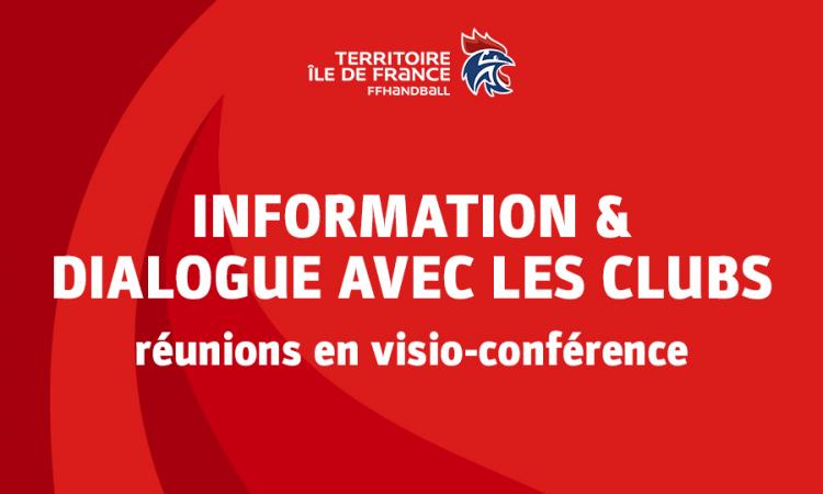 Informations et dialogue ligue-clubs