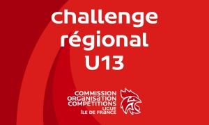 Challenge régional des moins de 13 ans – J3 masc. & J2 fém.