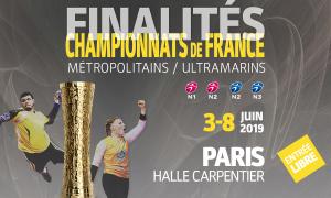 Finalités des championnats de France (ultramarins / métropolitains) 2019