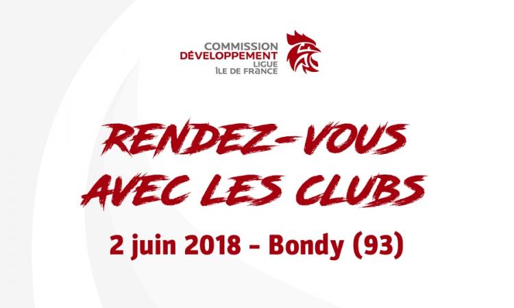 Rendez-vous avec les clubs – 2/06/2018